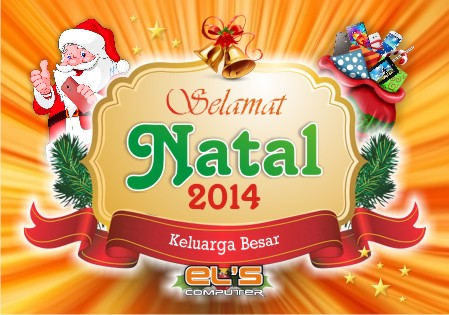 ELS Computer Mengucapkan Selamat Natal 2014