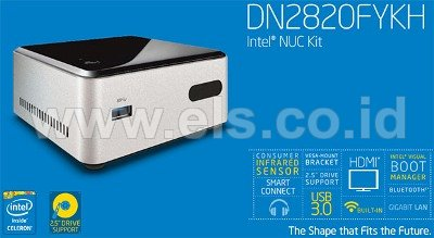 Review : Spesifikasi Lengkap Mini PC Intel NUC Kit DN2820FYKH