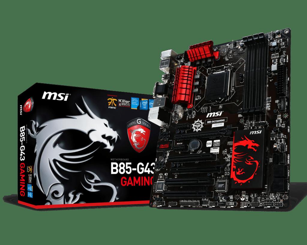 Review : Spesifikasi Lengkap B85-G43 Intel® B85 Express Chipset | Gaming Series