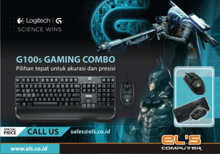 Promo : Logitech G100S Gaming Keyboard Mouse Combo