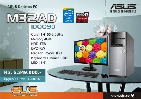 Mau PC Untuk Kantor Yang Terjamin Kualitasnya ? Pake BRANDED ASUS M32BF-ID002D LED 20″ , Pesan Online Kami Antar Sampai Kantor