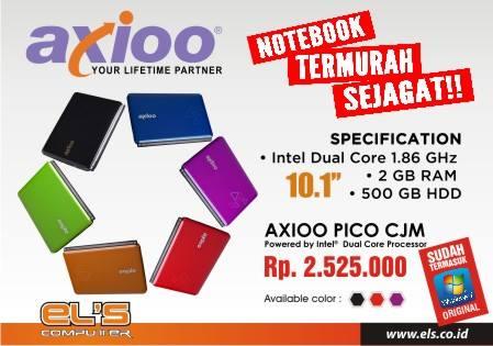 """AXIOO Pico CJM Laptop Termurah Sejagat, Apa G"""" Rugi Ya Pabriknya ???"""