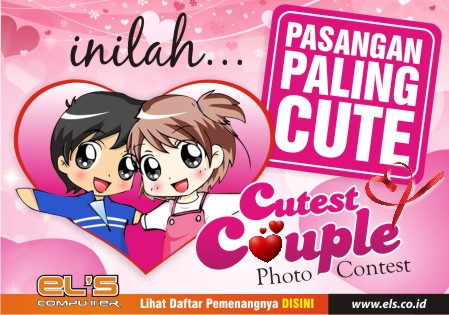 Pemenang Lomba Foto : Cutest Couple Photo Contest Valentine Day ELS Computer