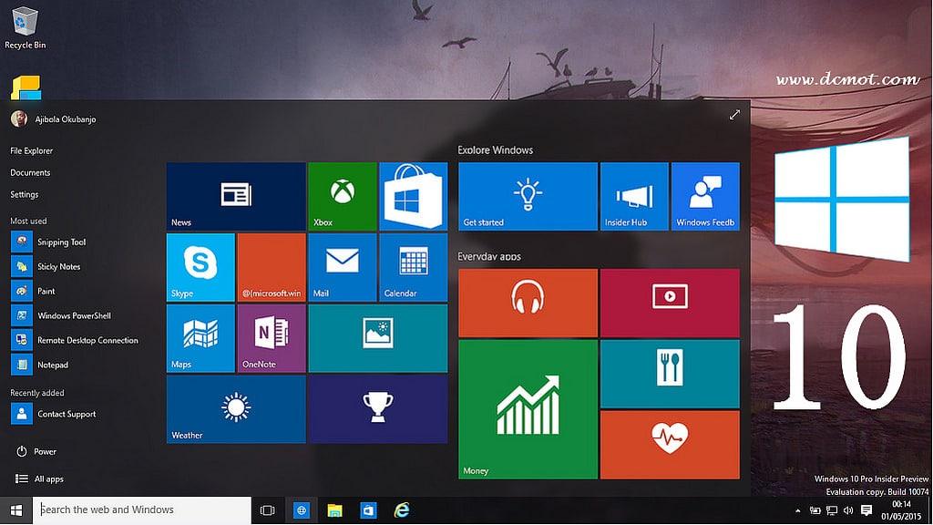 feature windows10
