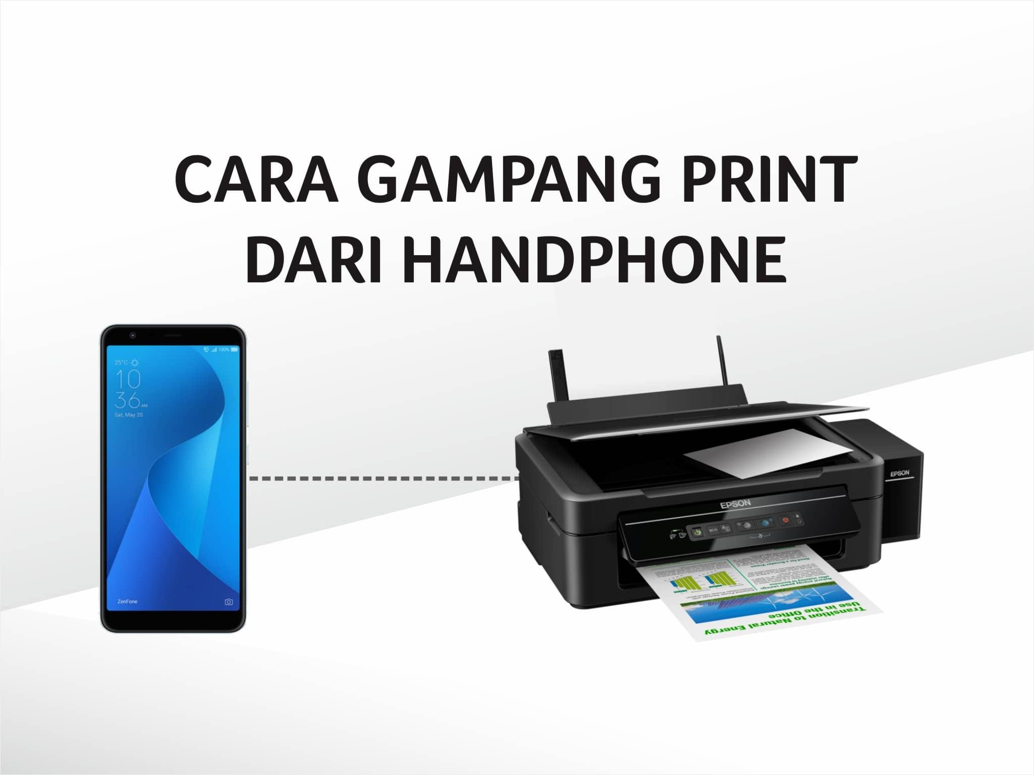 CARA GAMPANG PRINT DARI HANDPHONE | Blog Resmi ELS Computer: Info ...