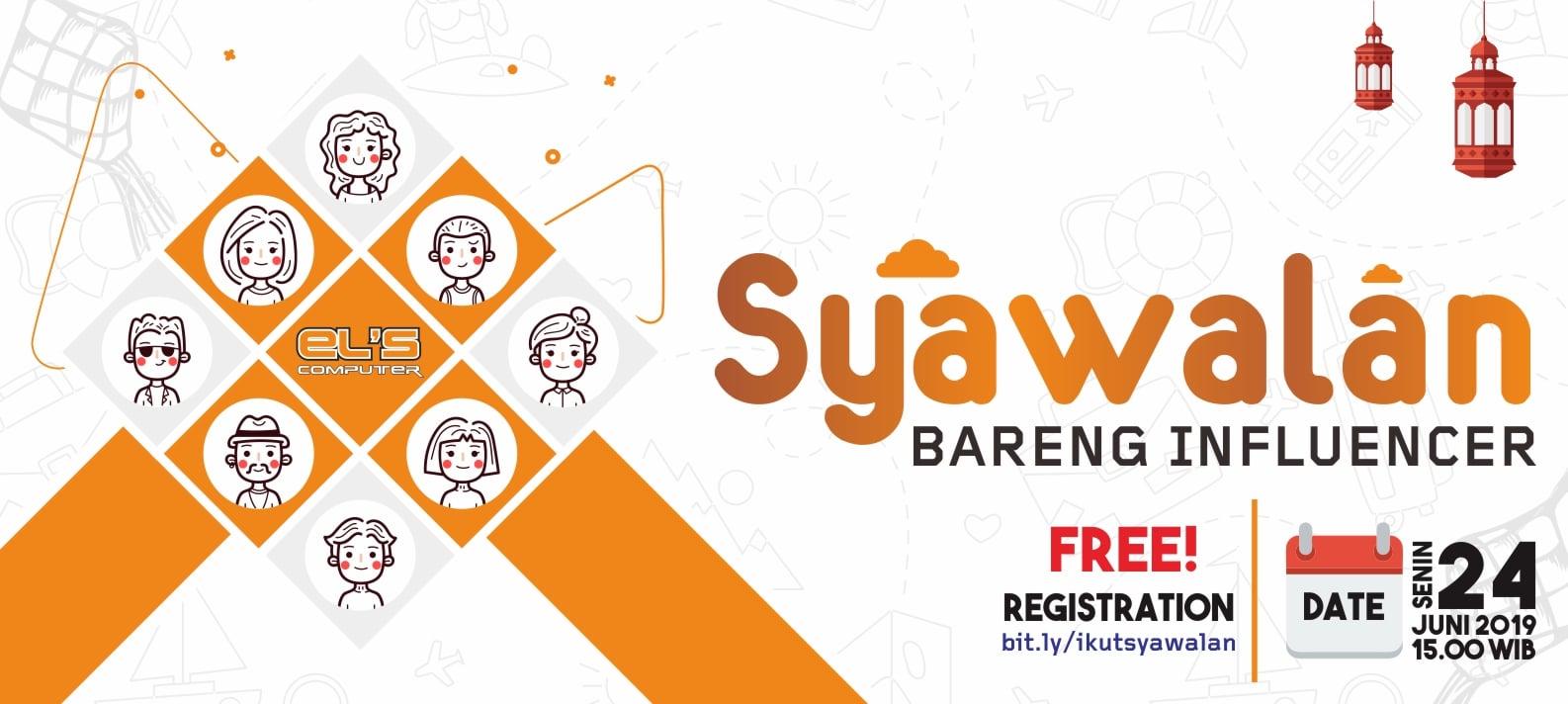 Syawalan Bareng Influencer di Yogayakarta !