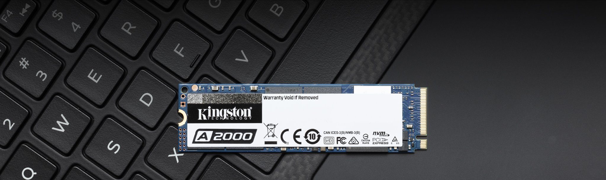 SSD NVme Kingston A2000, Performa Tinggi Harga Terjangkau.