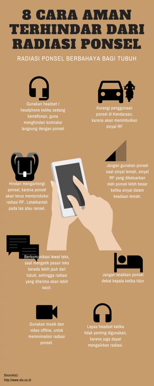 8 Cara Aman Terhindar Dari Radiasi Ponsel