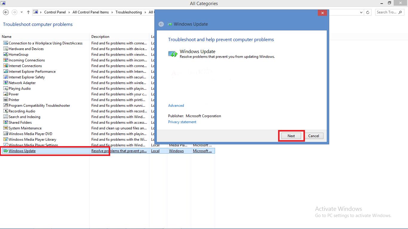 Cara Mengatasi Error kode 0x80073712, 0x80070424, 0x80070005, 0x80070422 di Windows Update